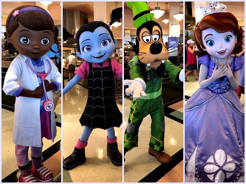 Cafe Da Manha Com Personagens Do Disney Junior No Hollywood